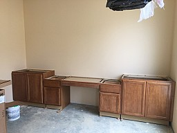 Pastor's Office Cabinets