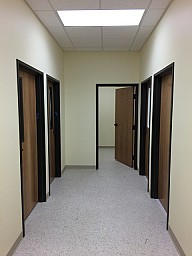 Classroom Hallway with Storage Room