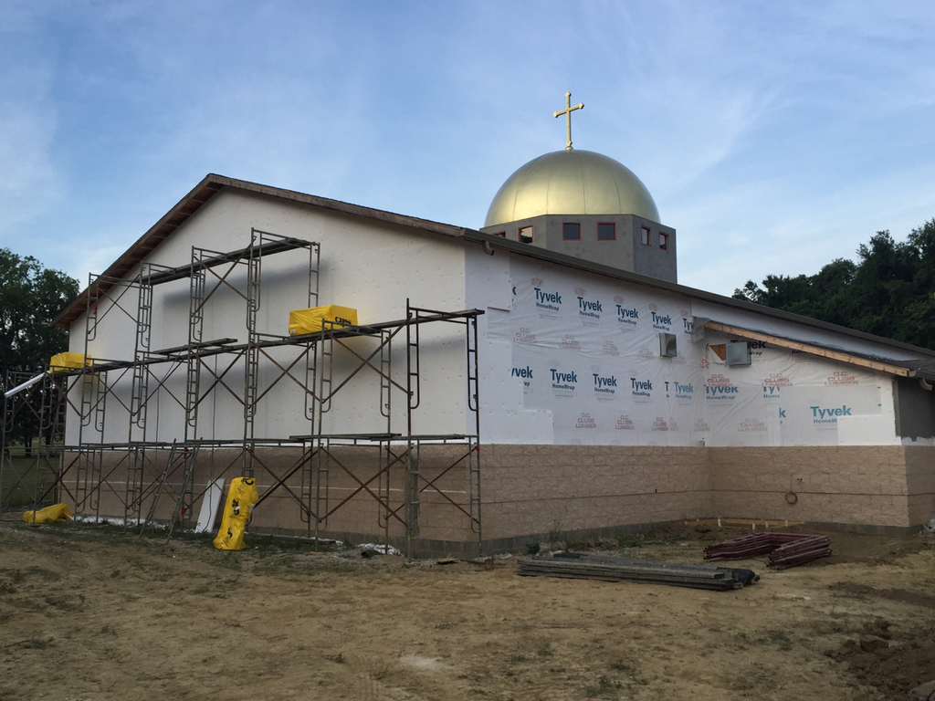 St george antiochian orthodox church preparing for the for Dryvit